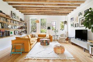 A Brooklyn Townhouse Reimagined as a Crisp, Loft-Like Duplex Asks $2.75M