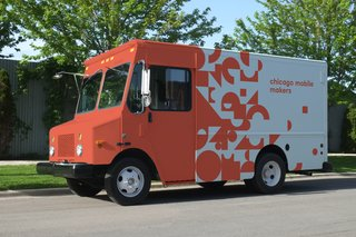 A Delivery Van–Turned–Mobile Classroom for Kids Hits the Streets of Chicago