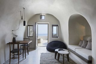 These Dreamy Villas on Santorini Take Inspiration From Traditional Cave Dwellings
