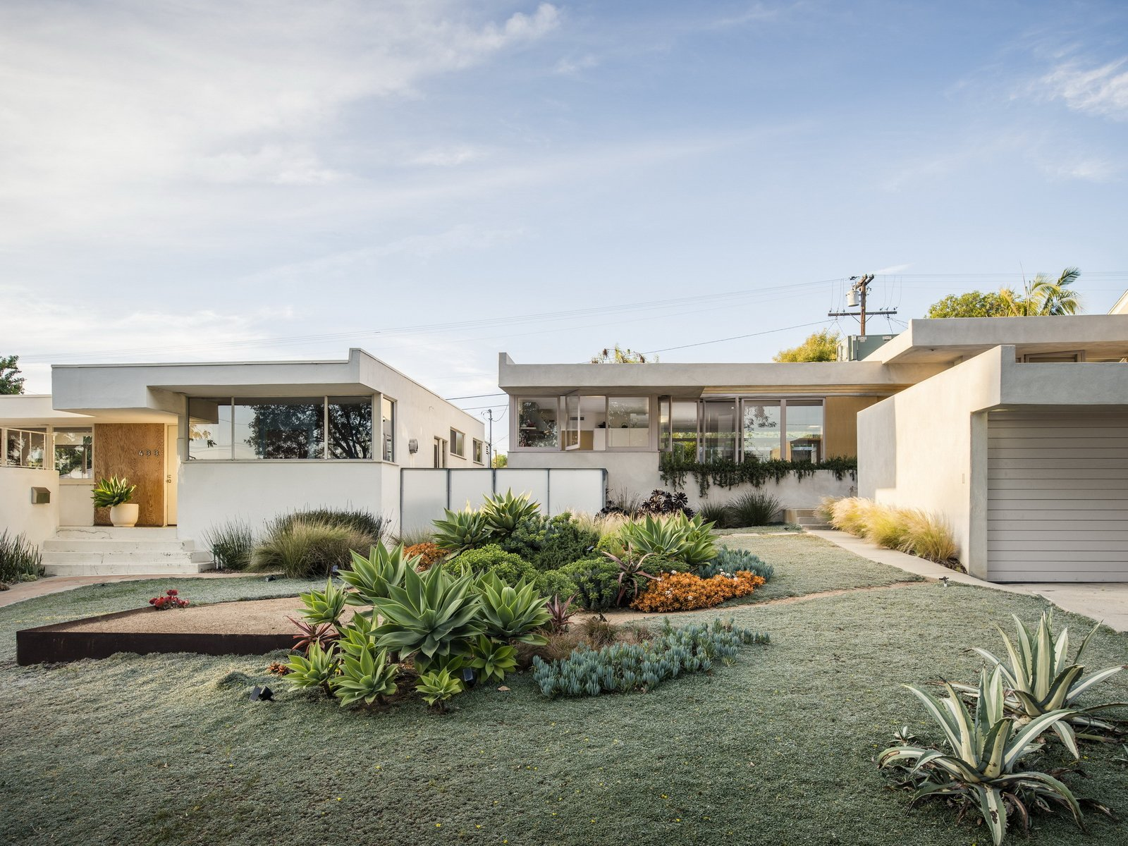 Three Rudolph Schindler restorations by Steven Ehrlich, Kali Nikitas, and Richard Shelton: A trio of Schindler houses brings three Los Angeles families together.  Photo 2 of 3 in Take a Sneak Peek at Dwell's July/August 2020 Issue