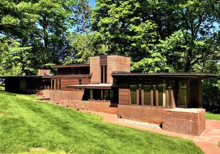 One of Frank Lloyd Wright's First Usonian Houses Hits the Market in Wisconsin for $425K