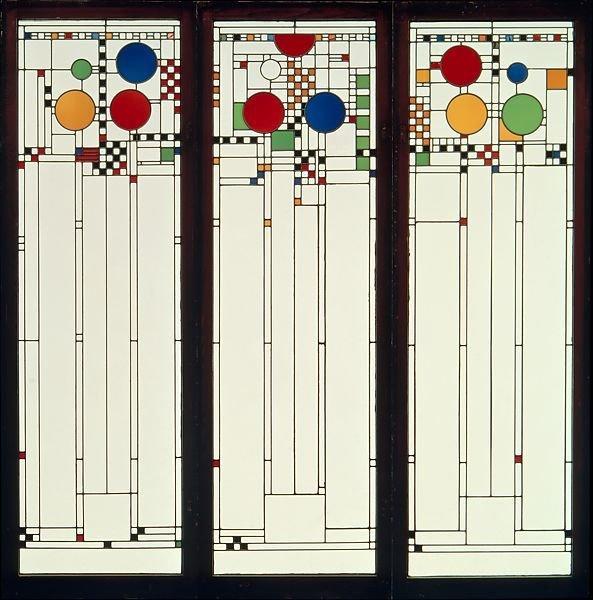 Avery Coonley Playhouse Frank Lloyd Wright  windows