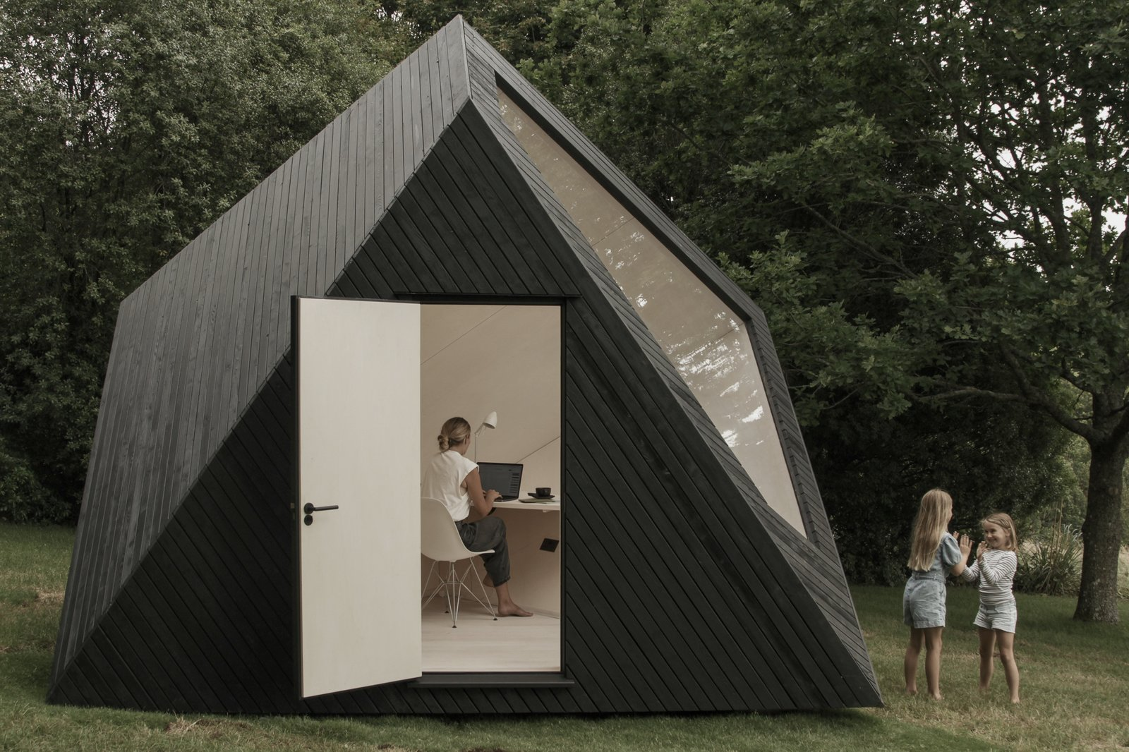 Koto Just Unveiled a Tiny Work Cabin That's Cut Like a Diamond