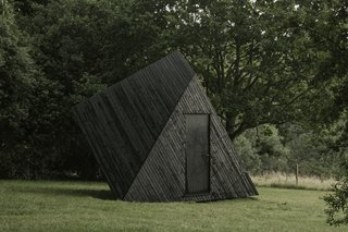 """""""The distinctive geometric form took hours of meticulous detailing to create,"""" says Koto."""