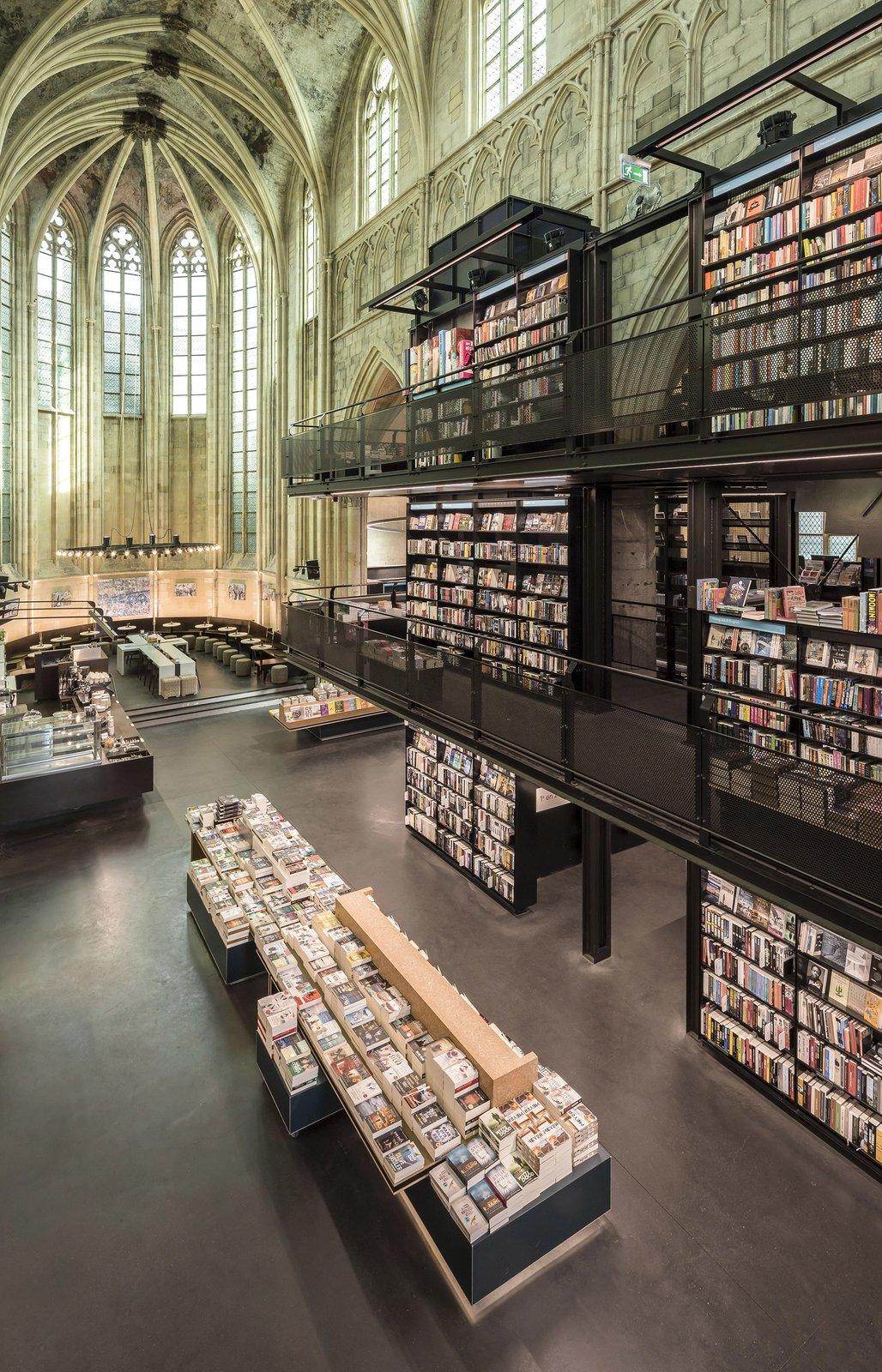 Boekhandel Dominicanen interior