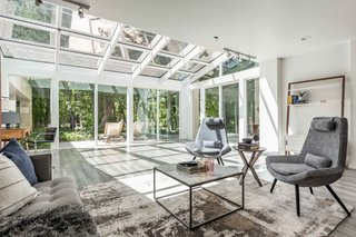 A Glass-Encased Home in a Forest Near Salt Lake City Asks $2M