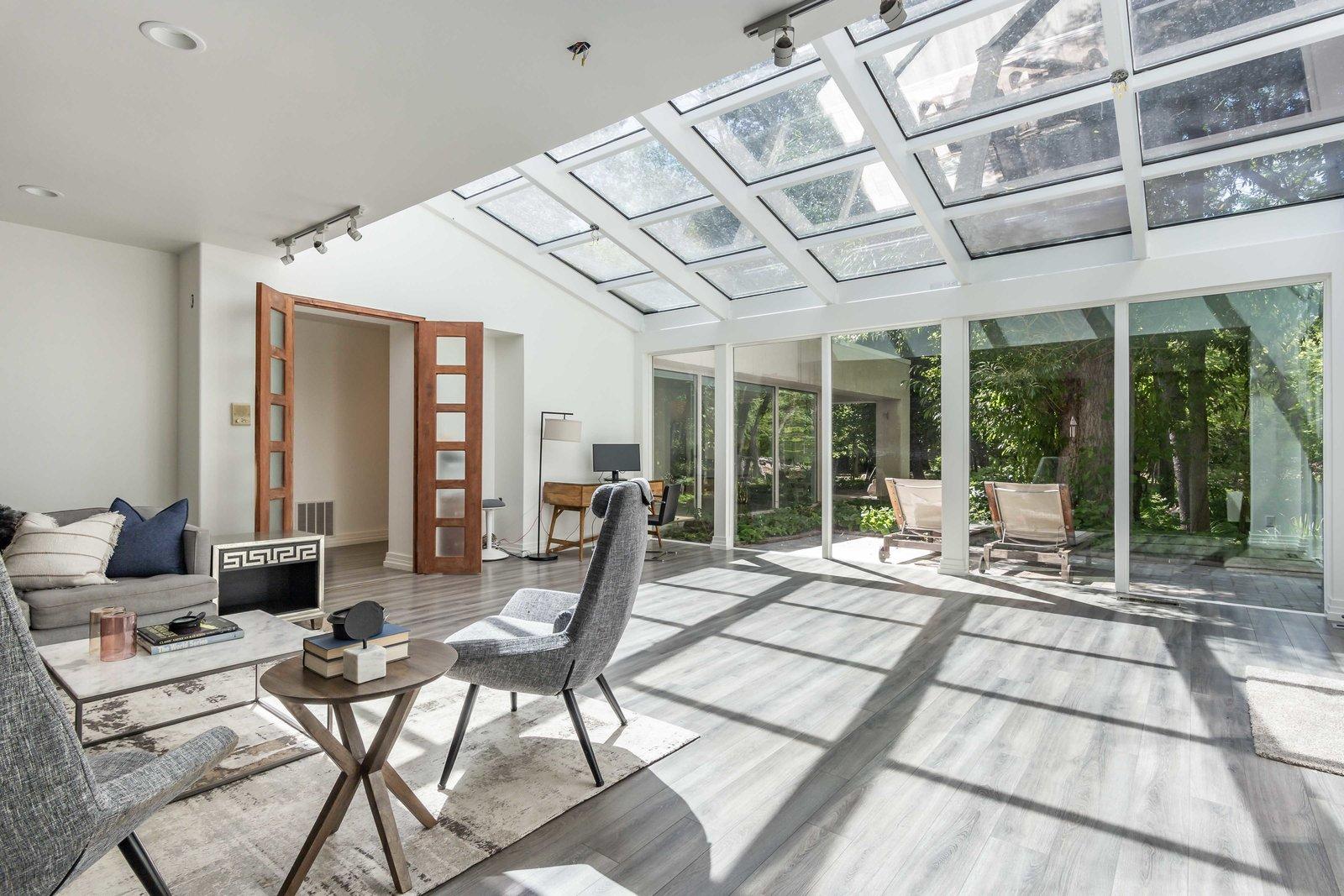 Holladay Concrete Home living area
