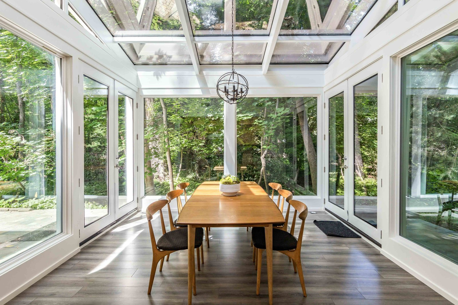 Holladay Concrete Home dining room