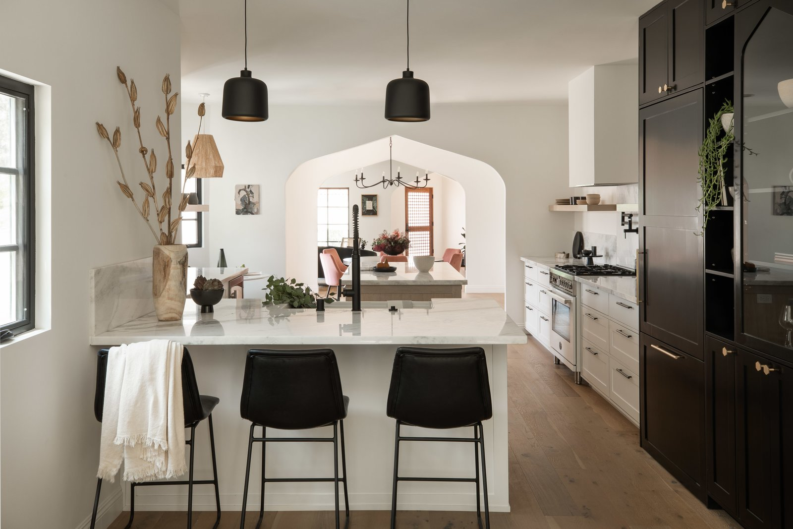 Kitchen of Tudor Renovation by VEIN Design and Bungalowe