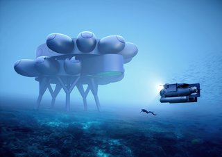 Yves Béhar Just Floated Plans for an Underwater Space Station, and It's Wild