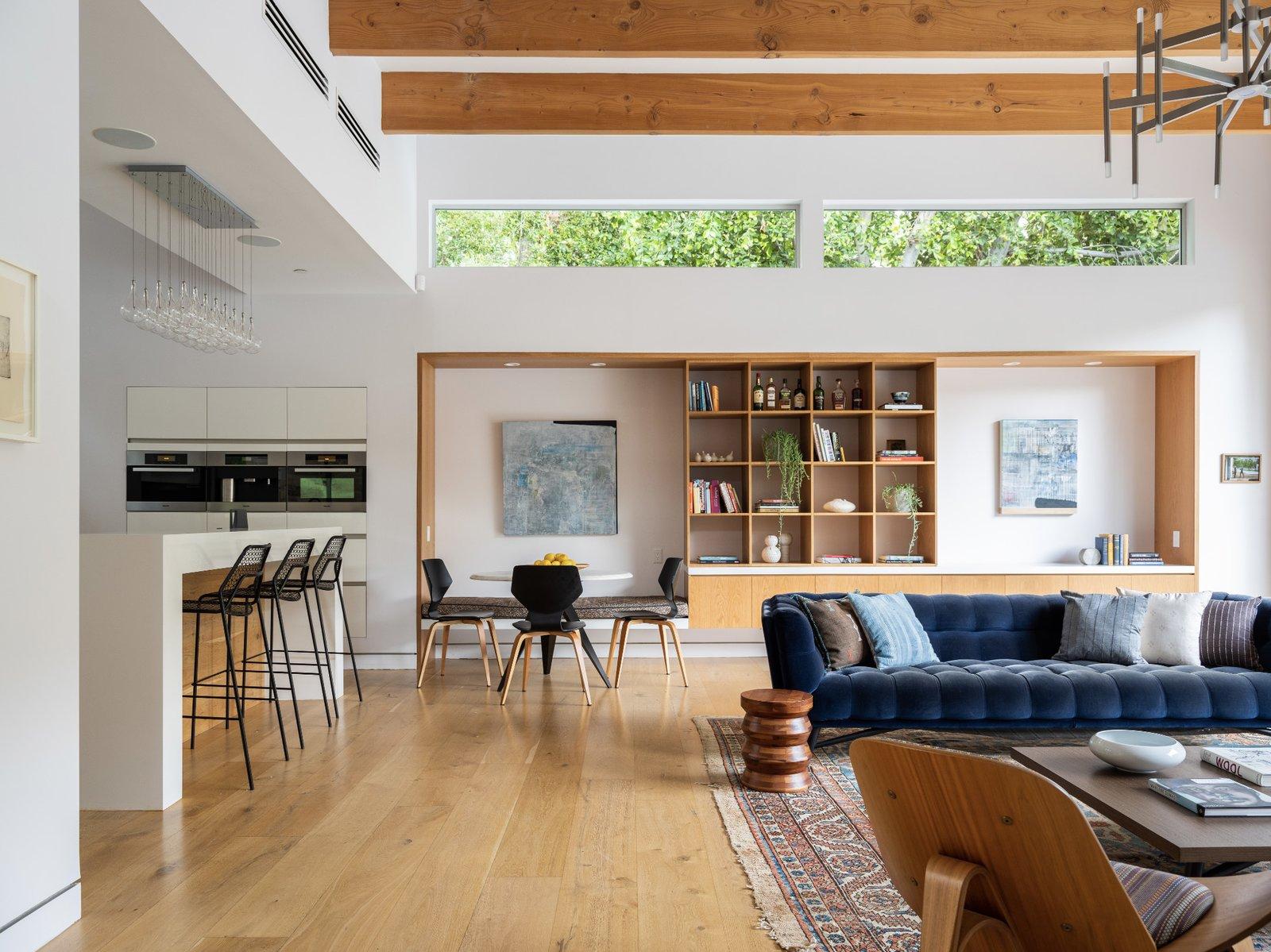 Bruno Bondanelli Los Angeles home living area