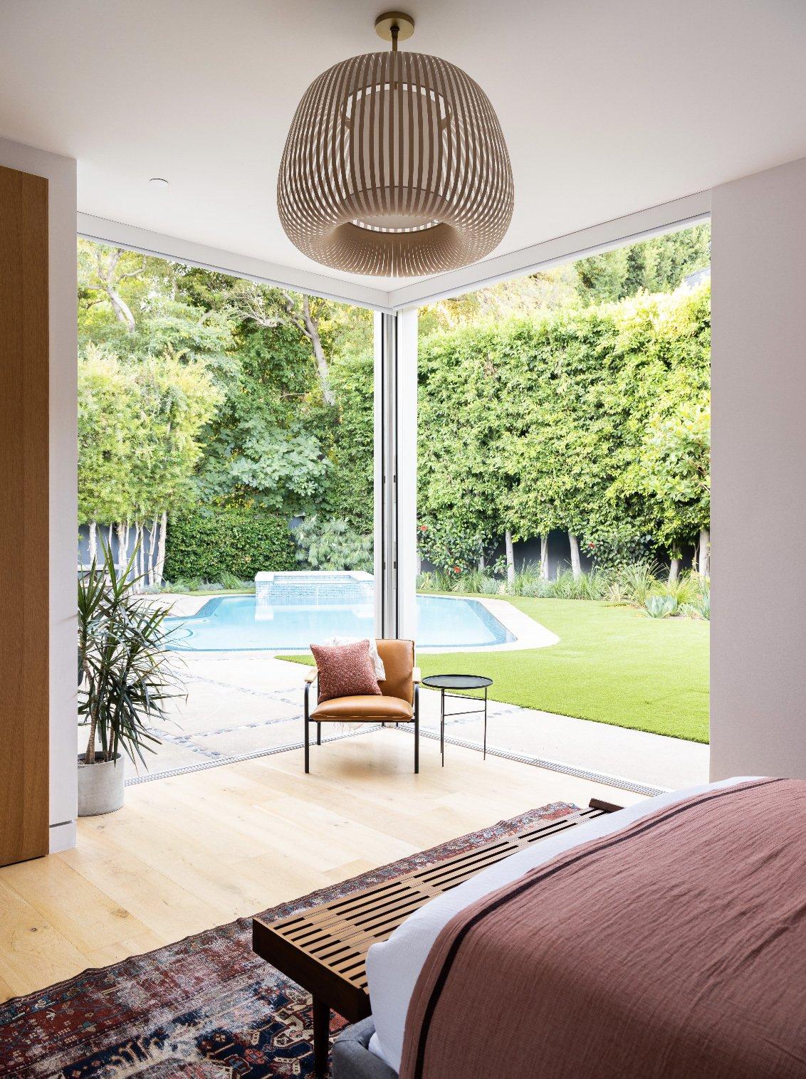 Bruno Bondanelli Los Angeles home main bedroom