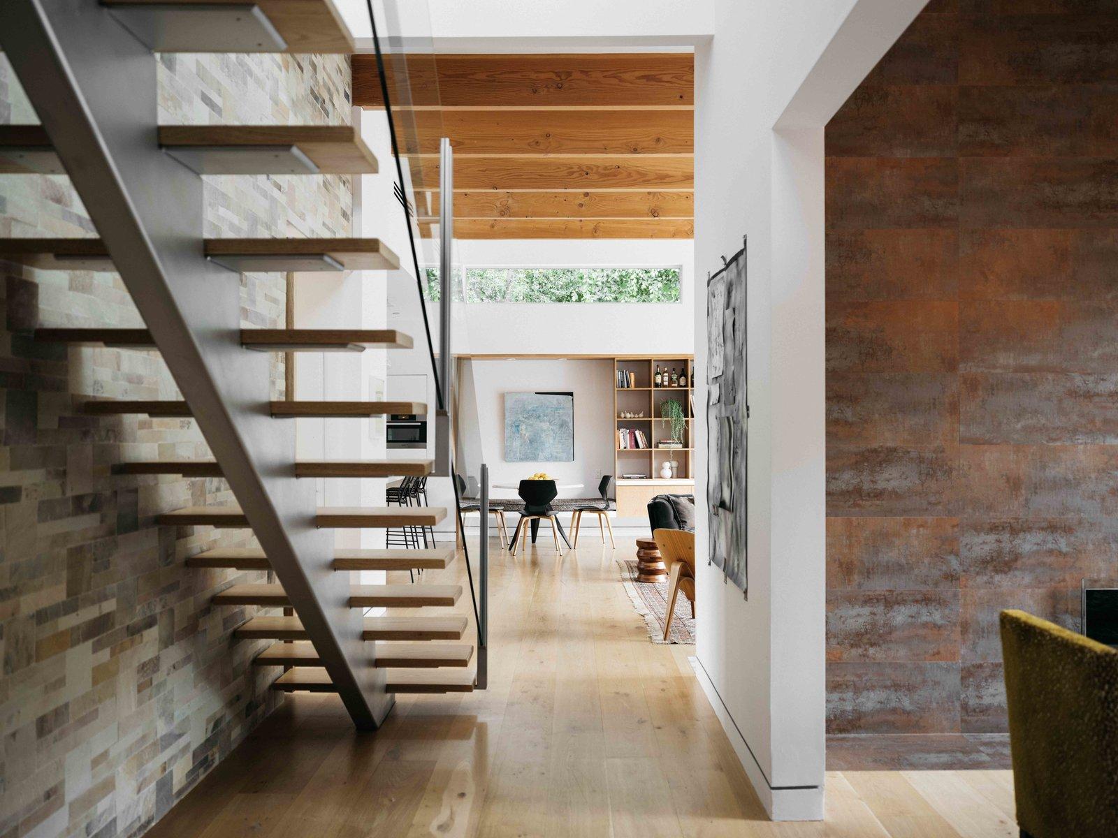 Bruno Bondanelli Los Angeles home staircase