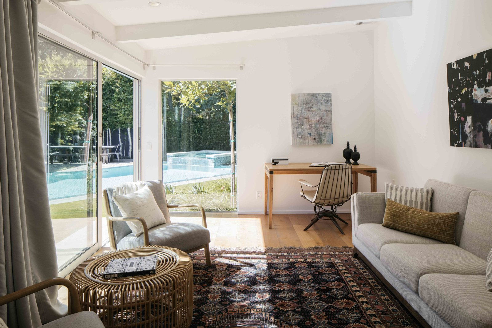 Bruno Bondanelli Los Angeles home guesthouse