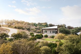 This Clever, Affordable Homestead for a Retired Texas Couple Is Two Houses in One