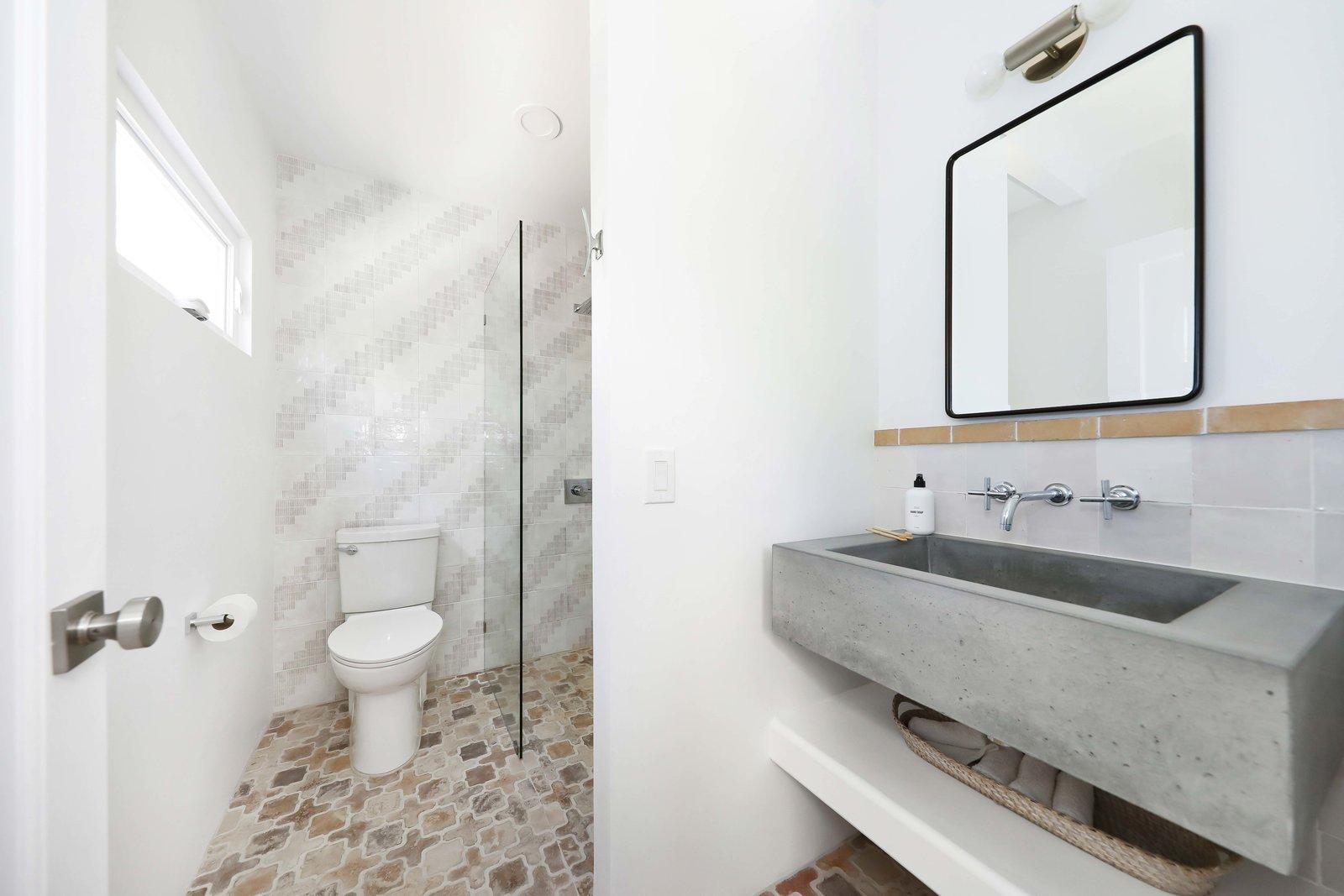 Los Angeles Spanish Bungalow bathroom