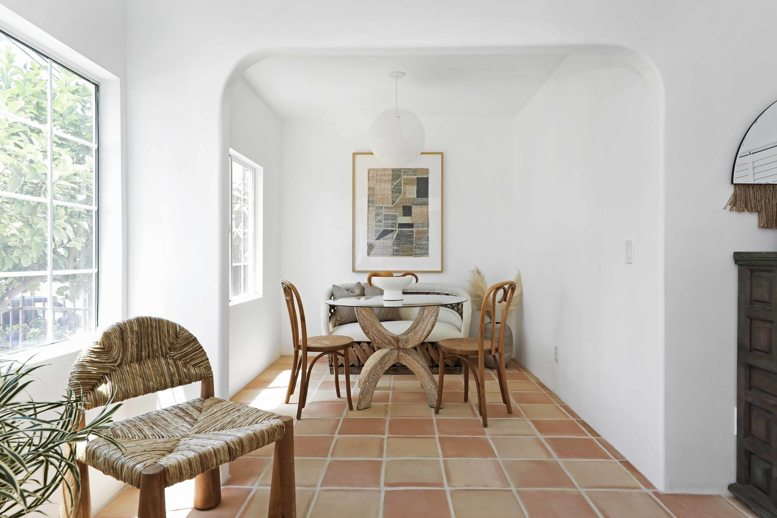 Los Angeles Spanish Bungalow dining nook