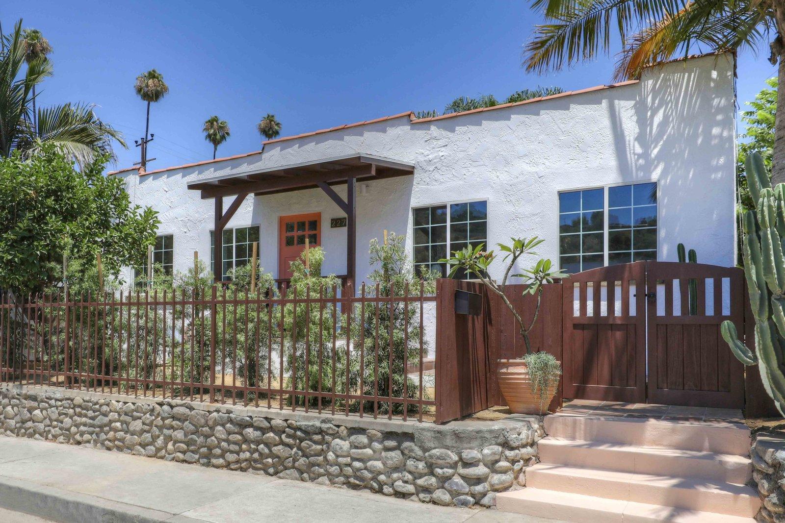 Los Angeles Spanish Bungalow Exterior