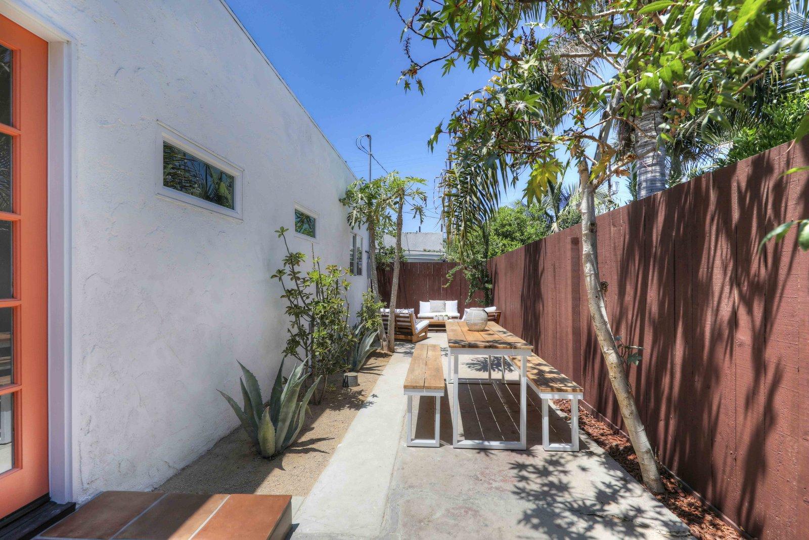 Los Angeles Spanish Bungalow backyard