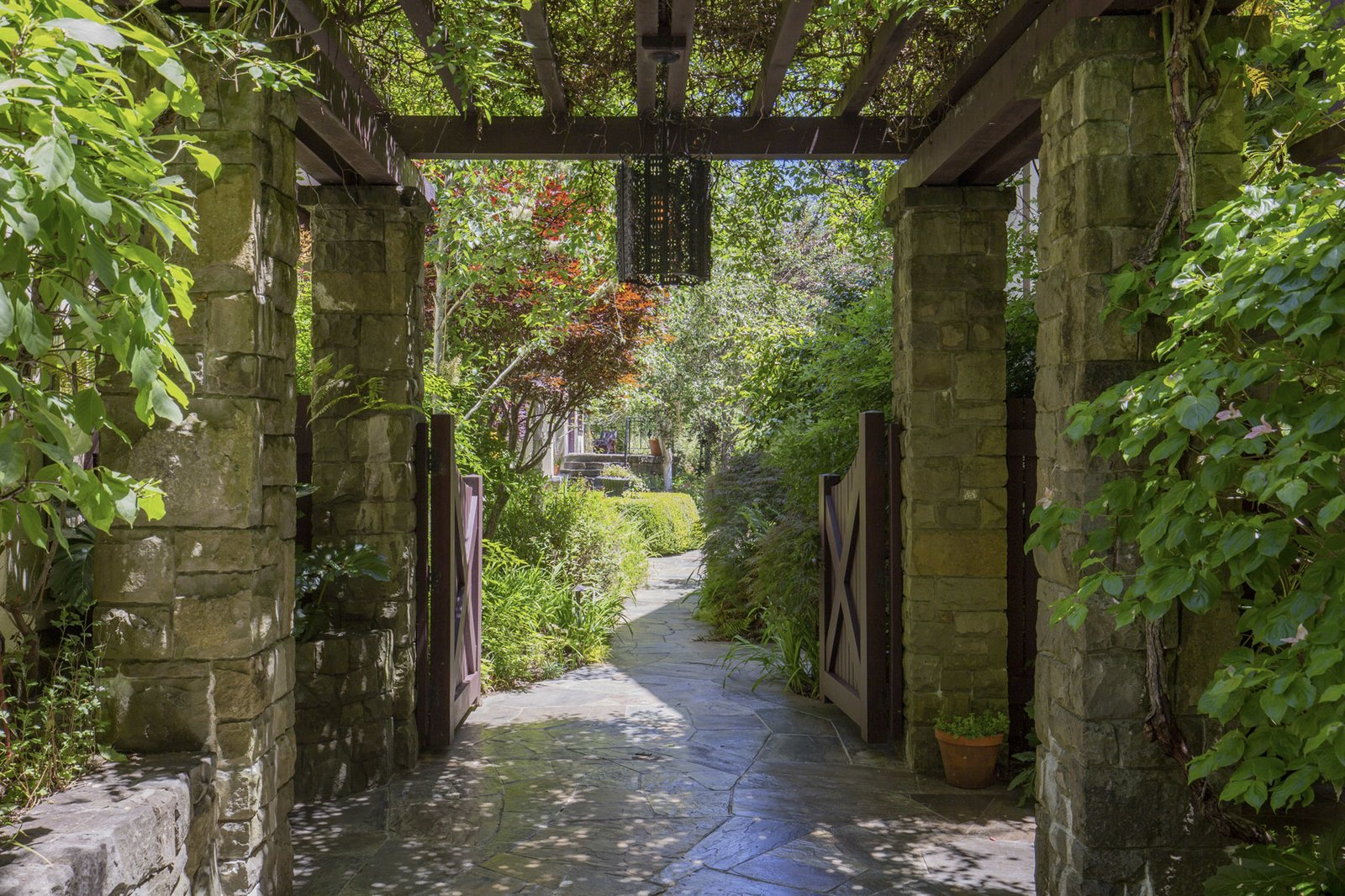 Redwood Grove Estate gate
