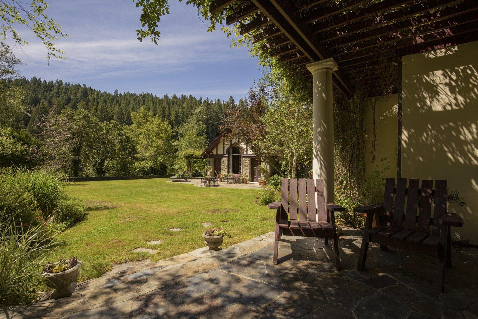 Redwood Grove Estate patio