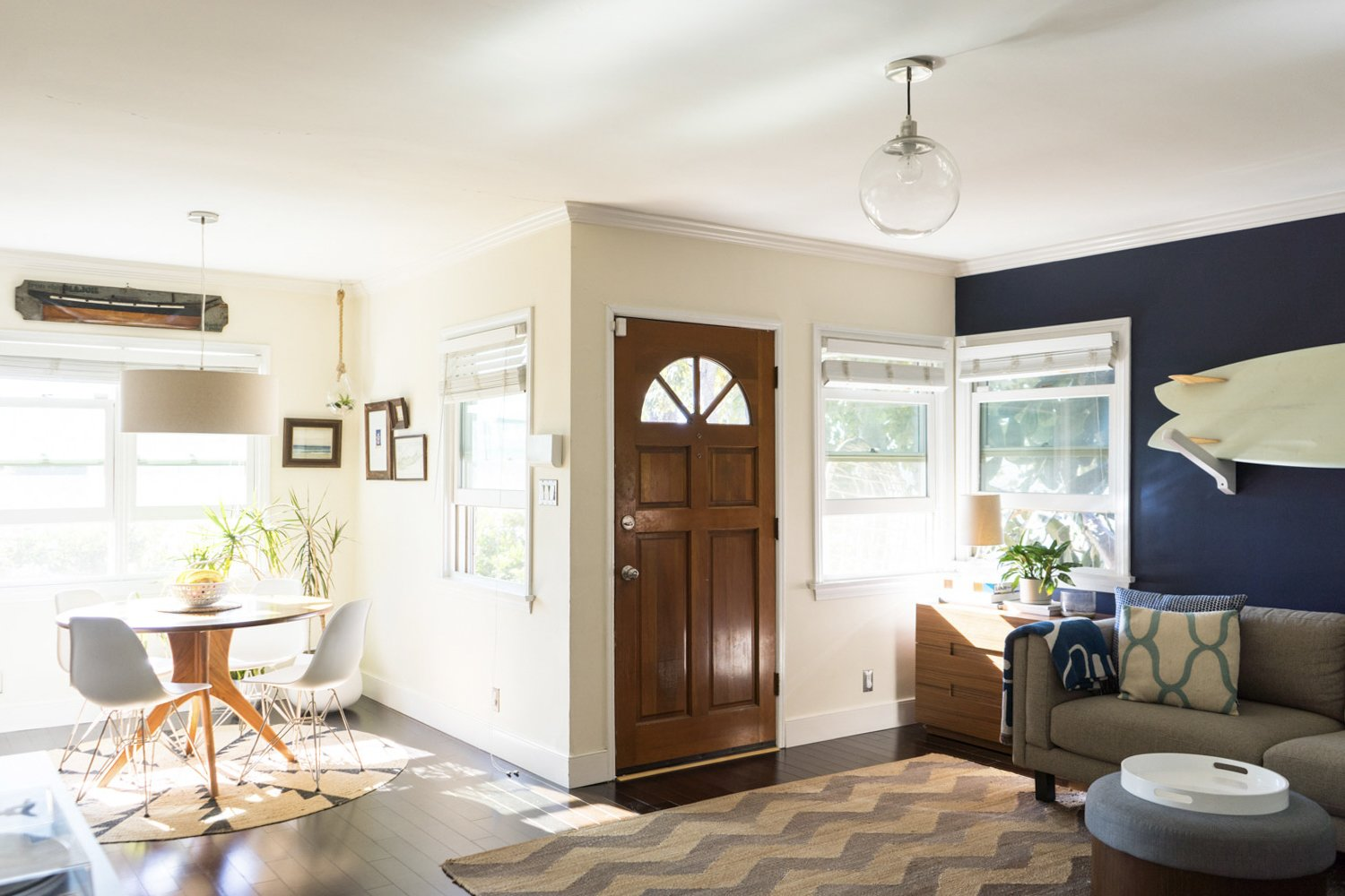 """Titone and Husk also updated the bungalow, redoing most of the finishes during the more than a decade that they have owned the home.  Photo 11 of 17 in The """"Surf Shacks"""" Author Lists His Venice Bungalow and Backyard Guesthouse for $1.6M"""