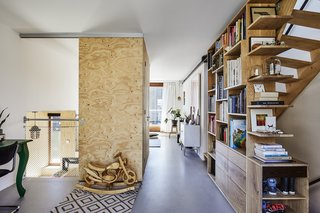 Resident Manon van der Zwaal's home exemplifies the open design and natural materials common to all 30 structures.