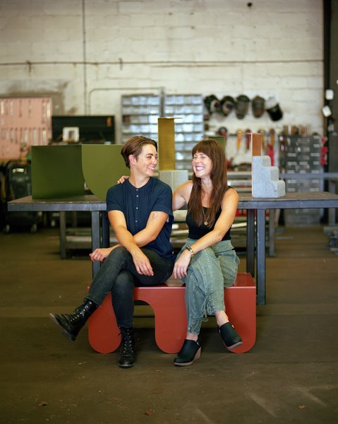 """Courtney Evans (left) and Abby Ross (right) at the Art<i>i</i>sh studio in Raleigh, North Carolina.""""></a></noindex></noindex><figcaption> <p>Courtney Evans (left) and Abby Ross (right) at the Artish studio in Raleigh, North Carolina.</p> <p>Photo by Kennedi Carter</p> </figcaption></figure> <div> <blockquote> <p>""""Our philosophy is that everyone is an artist or designer in some way, so we design and make products that are interactive and flexible,"""" says Ross. """"They're all built with the idea of movement and change in mind.""""</p> </blockquote></div> <figure><noindex><noindex><a target="""