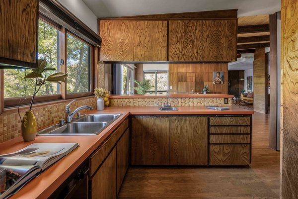 Another view of the kitchen. Only some fixtures and appliances have been updated since the home's original construction in '68.