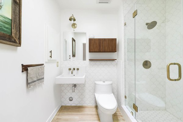 A full bathroom is located across the hall.