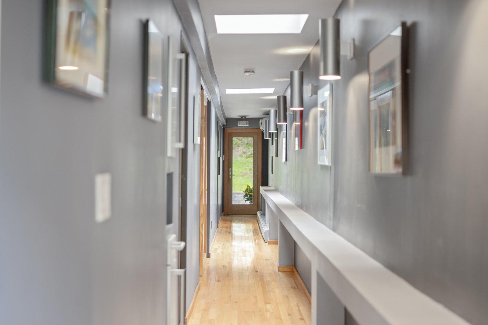 Cedar Bridge House hallway