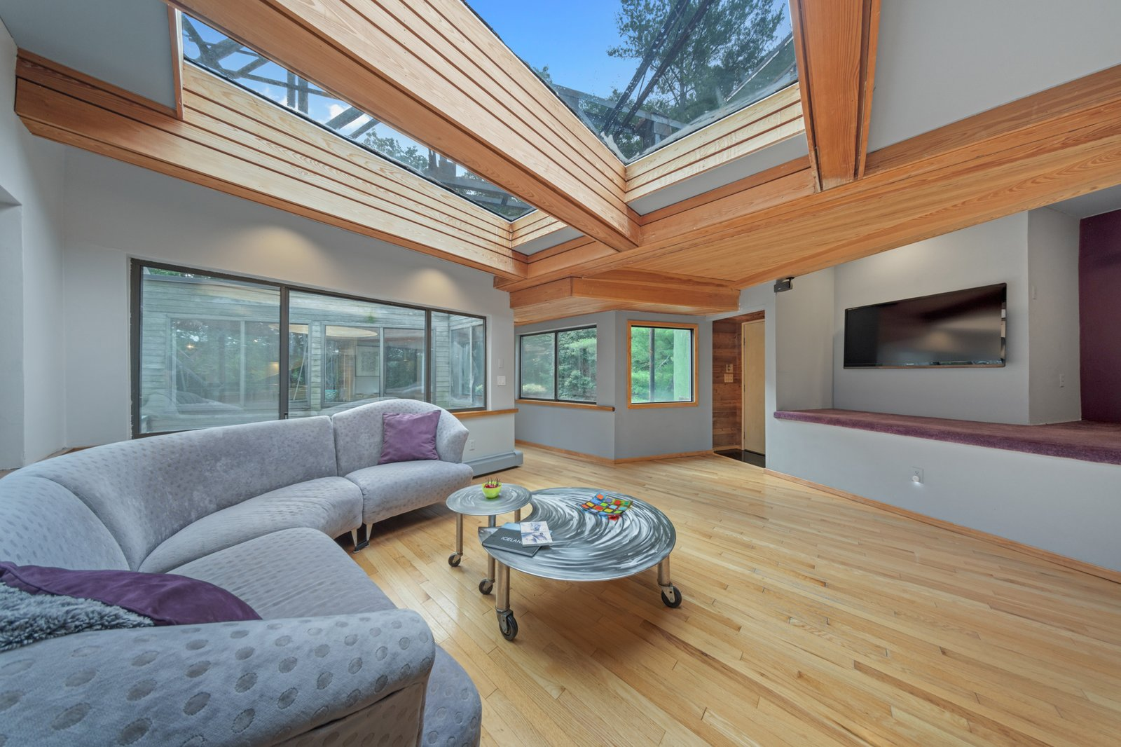 Cedar Bridge House living area