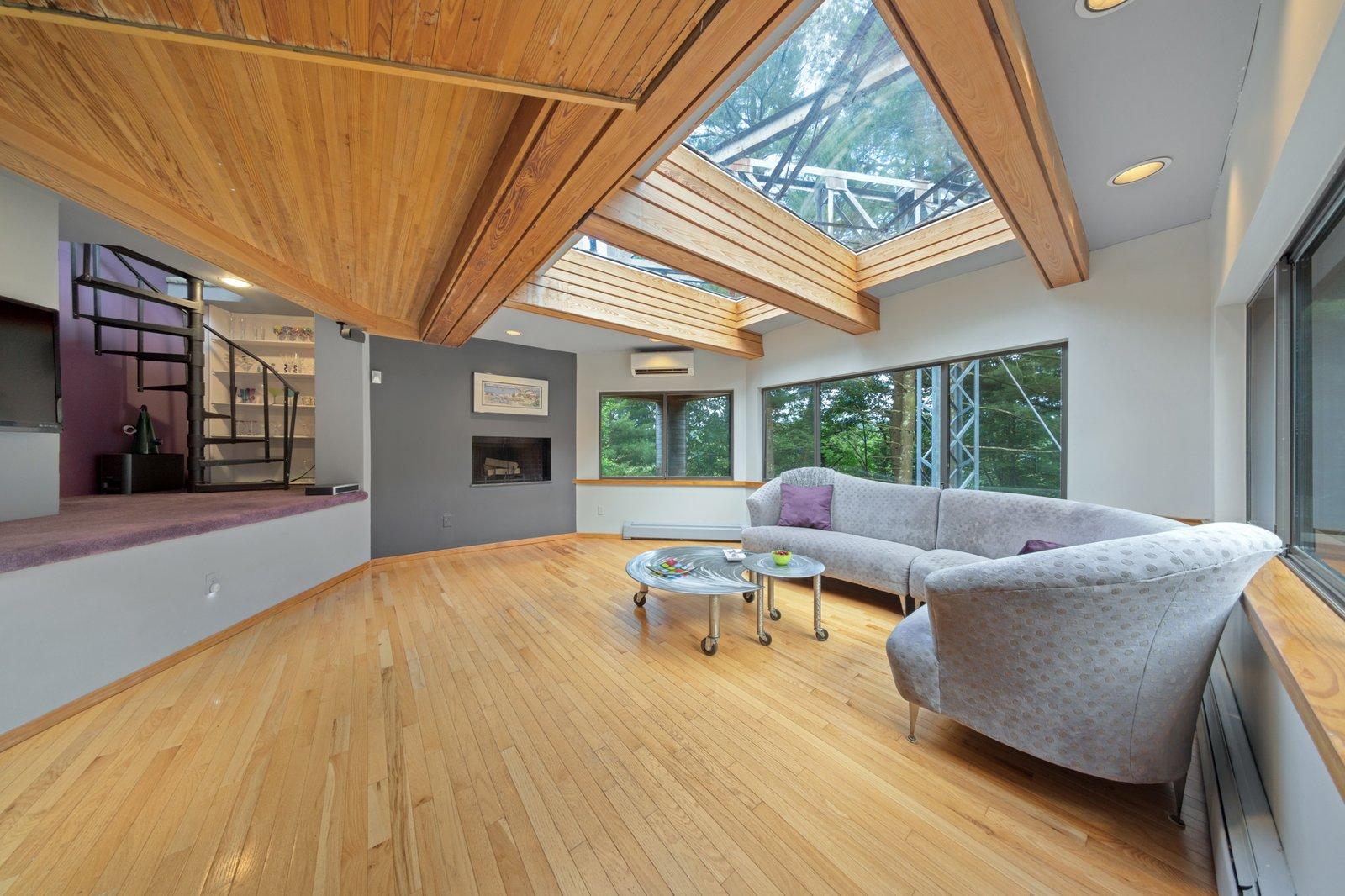 Cedar Bridge House living area