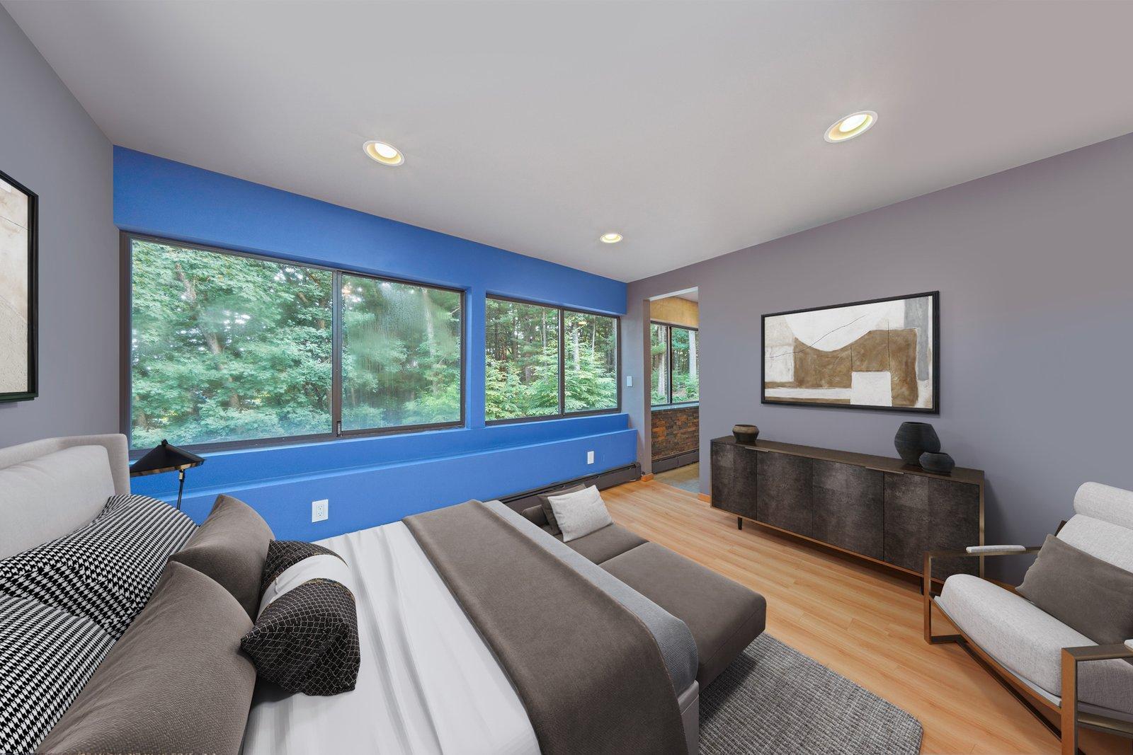 Cedar Bridge House bedroom