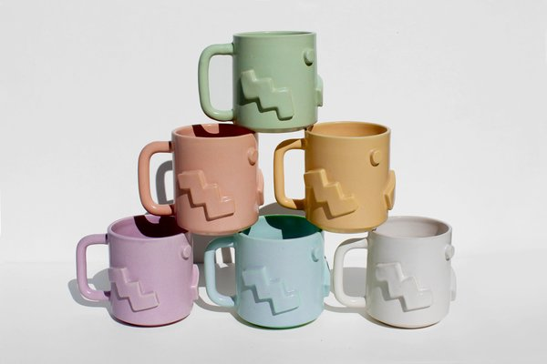 The Shape Mugs by Not Work Related
