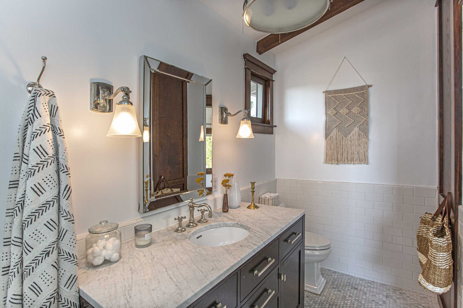 "A look at the en suite bathroom.  Photo 12 of 14 in ""Last Man on Earth"" Creator Will Forte Puts His Santa Monica Craftsman on the Market for $2.45M"