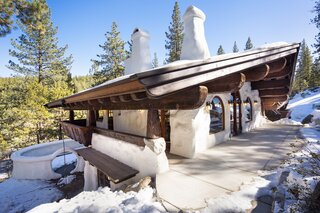 """Listed for $2.65M, This Bavarian-Style """"Snow Haus"""" Near Lake Tahoe Is the Perfect Alpine Escape"""