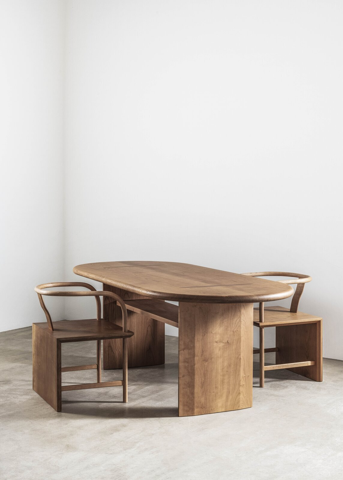 During the pandemic, the American Hardwood Export Council asked nine different design teams—Heatherwick Studio and Studio Swine among them—to create tables and seating that captured their work-from-home needs and desires. Then, they were paired with craftspeople at Benchmark Furniture, whom they only communicated with virtually, to bring these designs to life by hand in their Berkshire, England, workshop. This furniture, all crafted from a choice of red oak, maple, or cherry, is now on display in Connected (through October 11) at the Design Museum in London.  Photo 4 of 17 in 16 Essential Design Events to Catch This Fall
