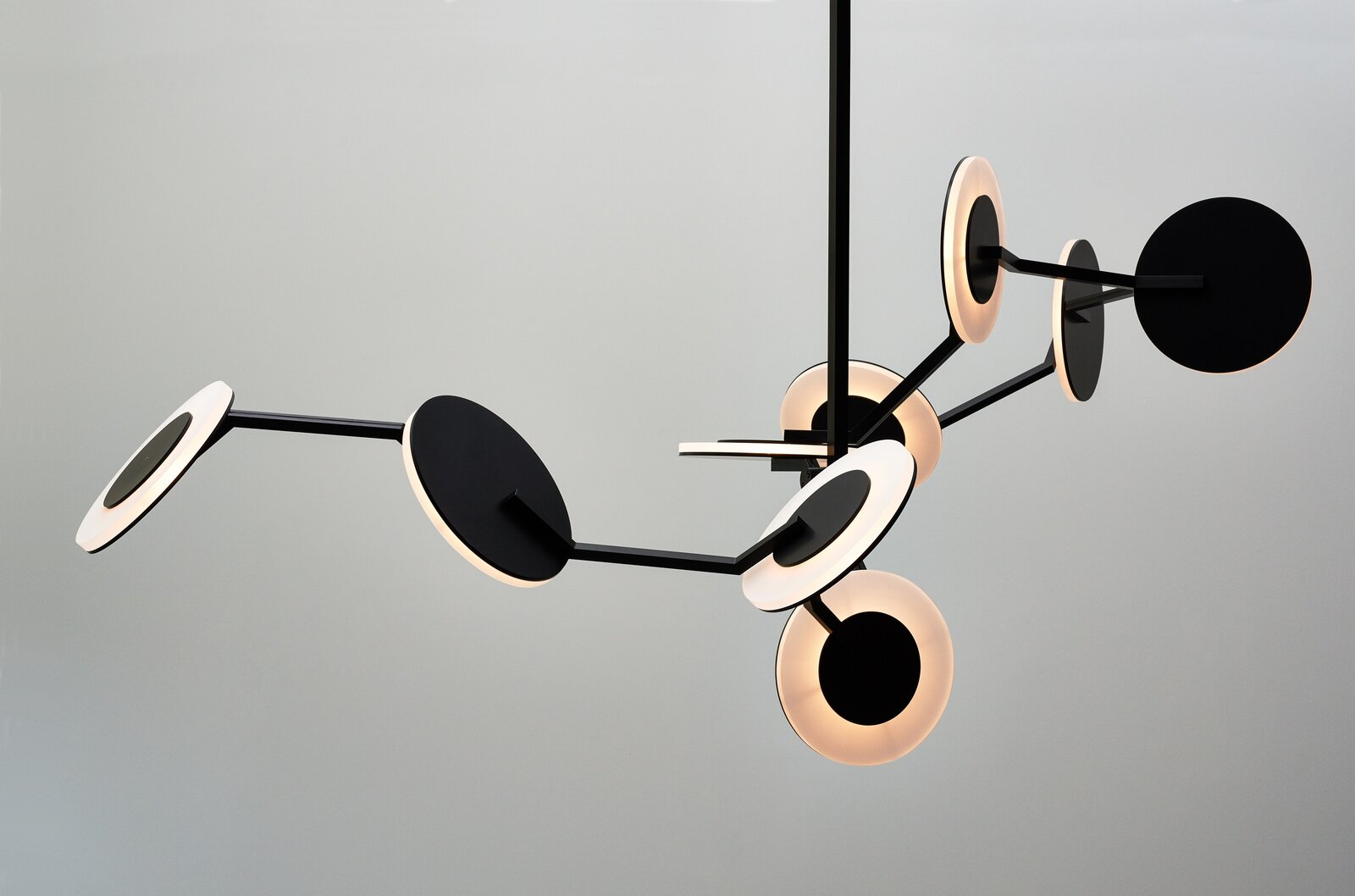 The disco chandelier by James Dieter  Photo 8 of 9 in Designer to Know: James Dieter