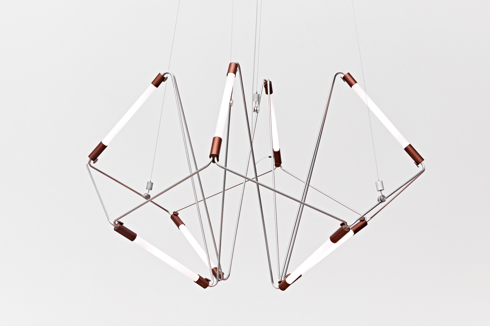 """Mobi by James Dieter is a positionable """"mobile of light  Photo 2 of 9 in Designer to Know: James Dieter"""