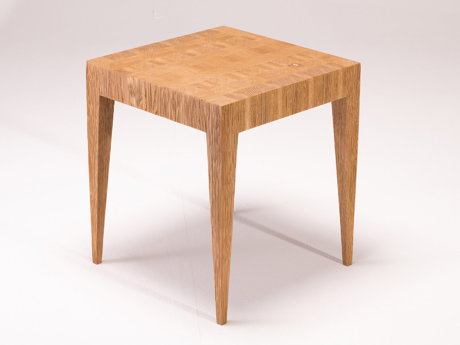 An end grain stool by O/D\O Lab  Photo 4 of 8 in Designer to Know: O/D\O Lab