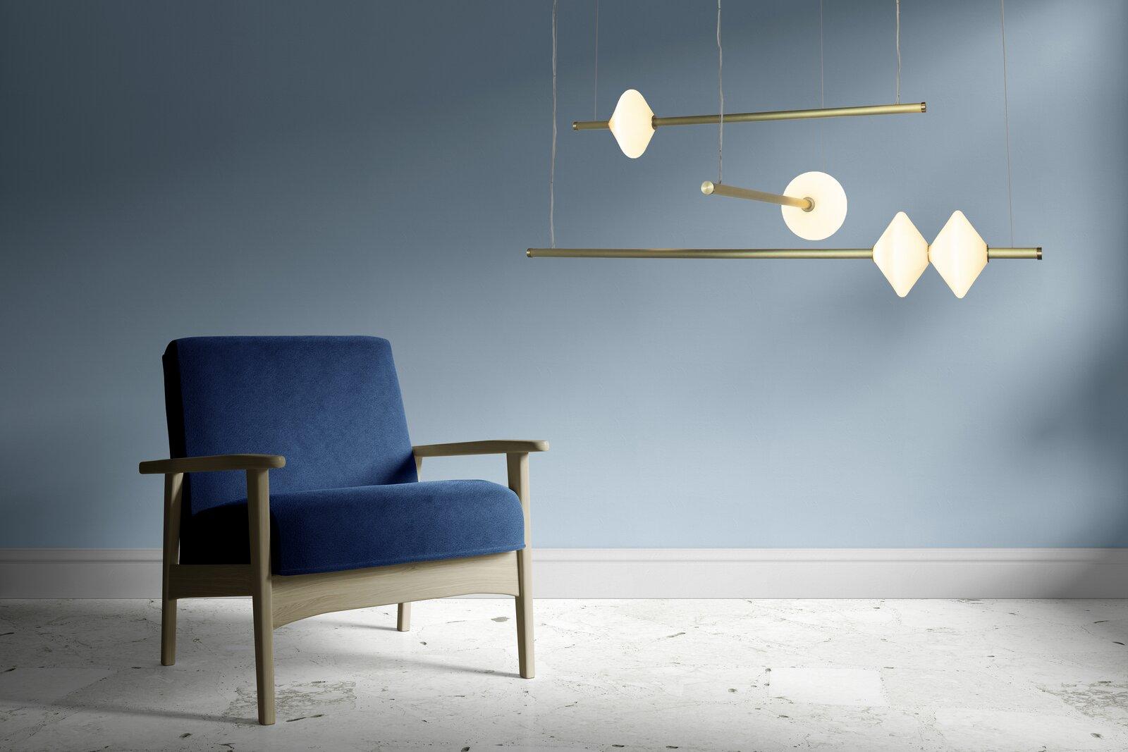 A bespoke chandelier designed by Zac Ridgely  Photo 5 of 5 in Designer to Know: Ridgely Studio Works