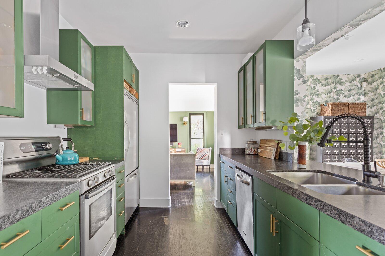 1920s Spanish Revival home kitchen