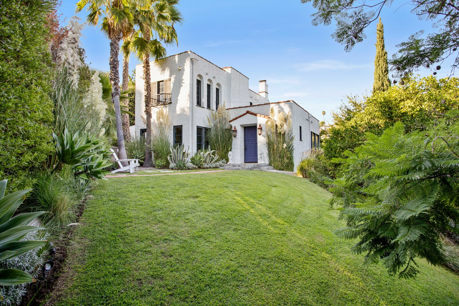 1920s Spanish Revival home exterior