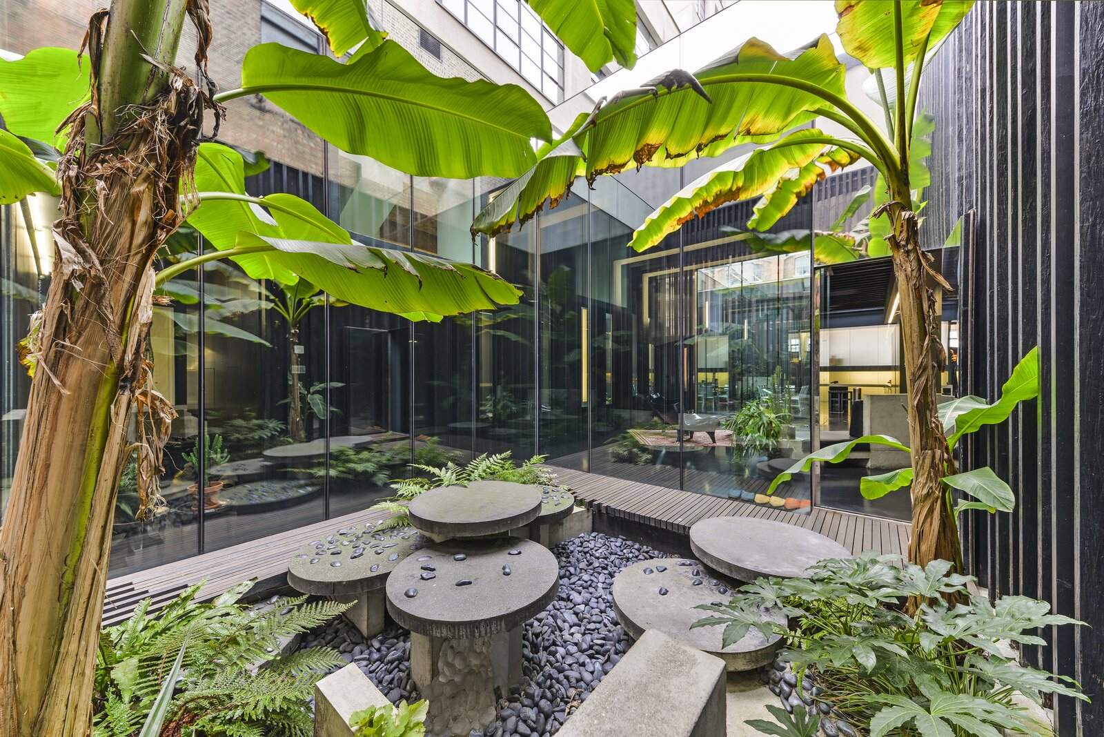 Courtyard in the Lost House by David Adjaye