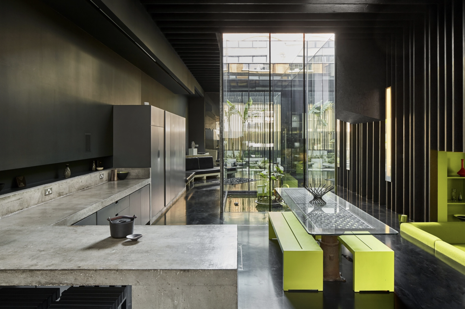 Kitchen in the Lost House by David Adjaye