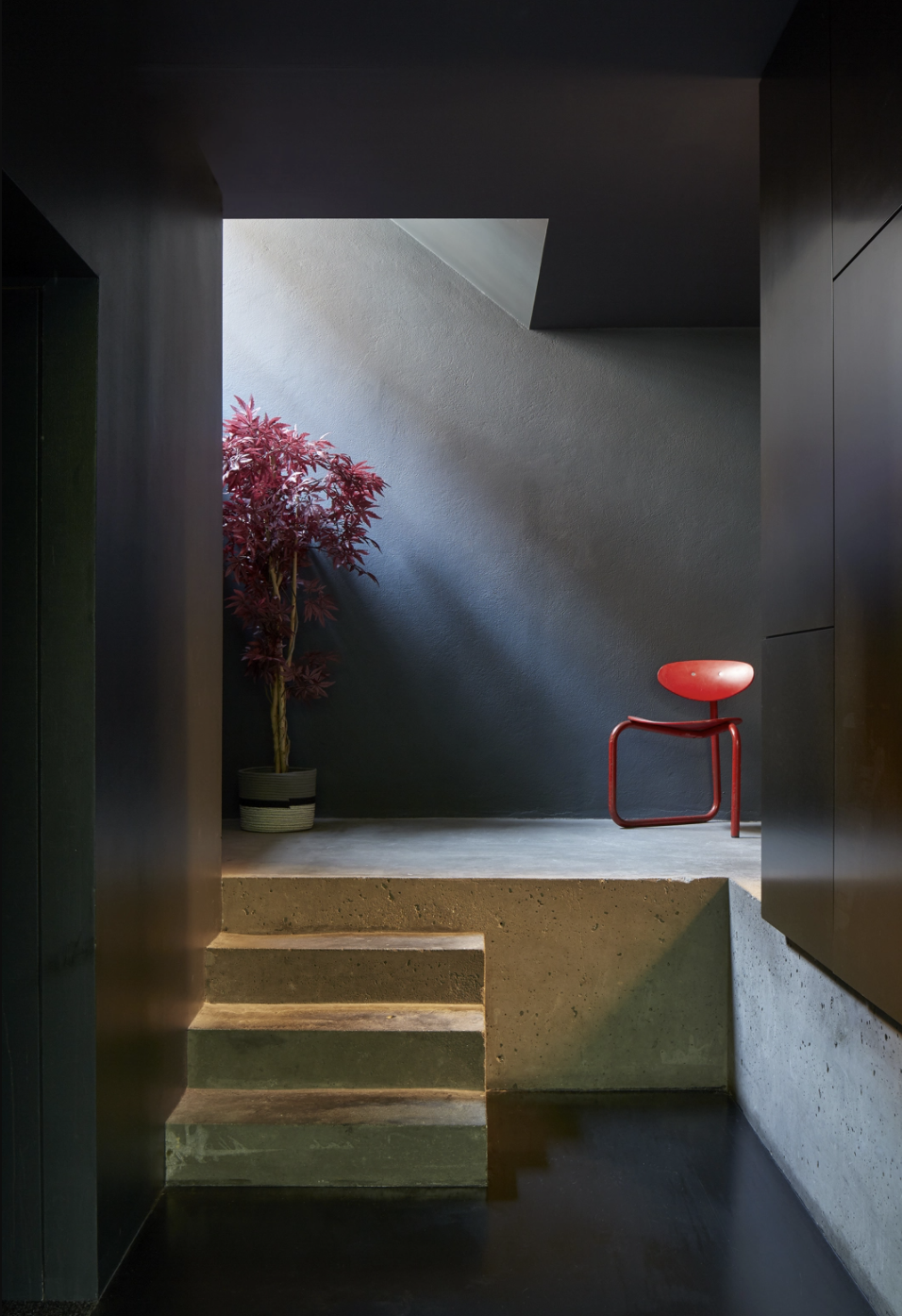 Entryway in the Lost House by David Adjaye