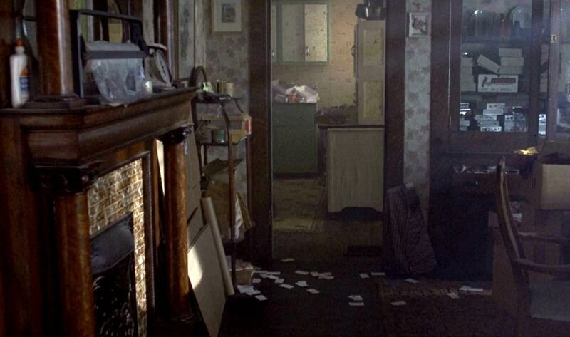 """A clip from the movie shows the dining area in disarray.  Photo 7 of 23 in Hey, Horror Movie Buffs—You Can Own the """"Silence of the Lambs"""" House for $299K"""