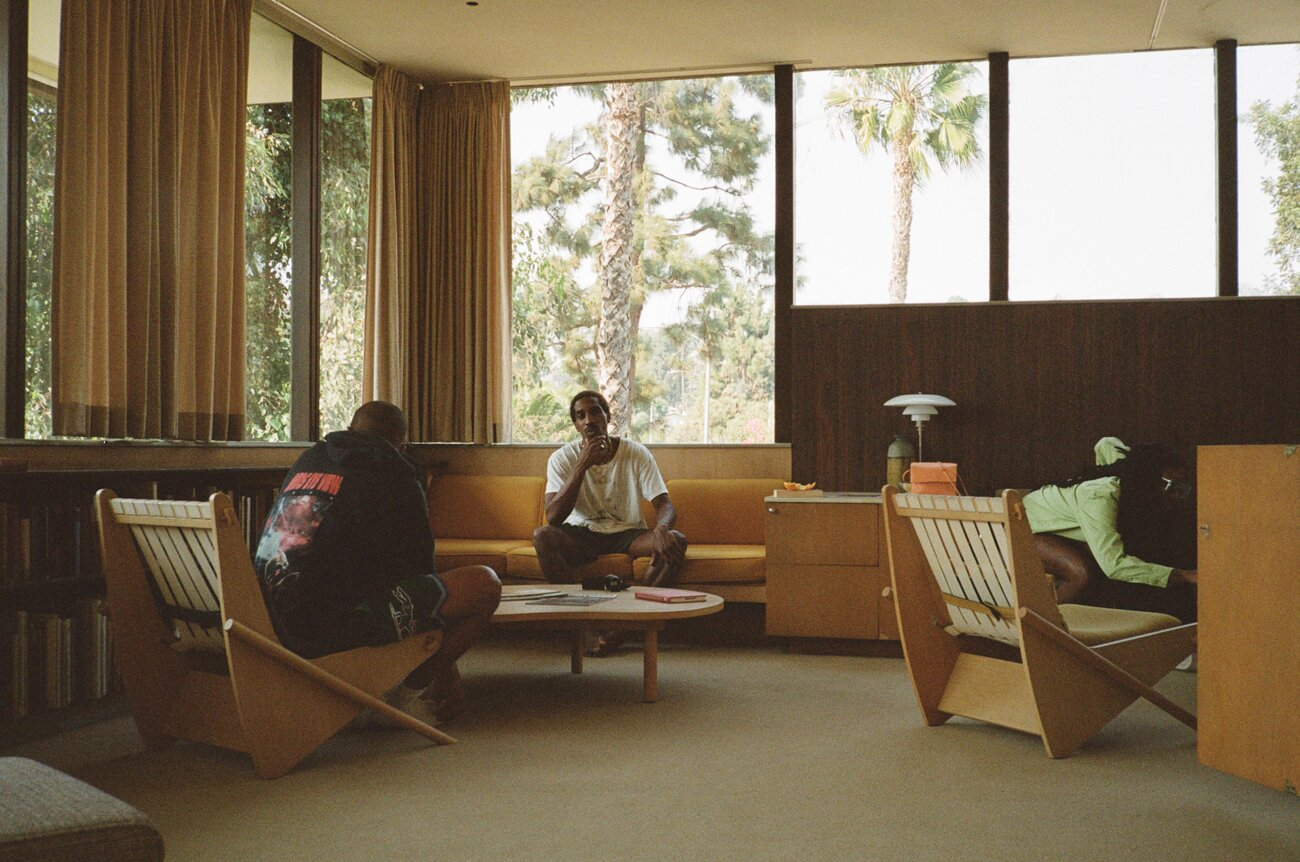 Jerald Cooper at Richard Neutra's VDL House