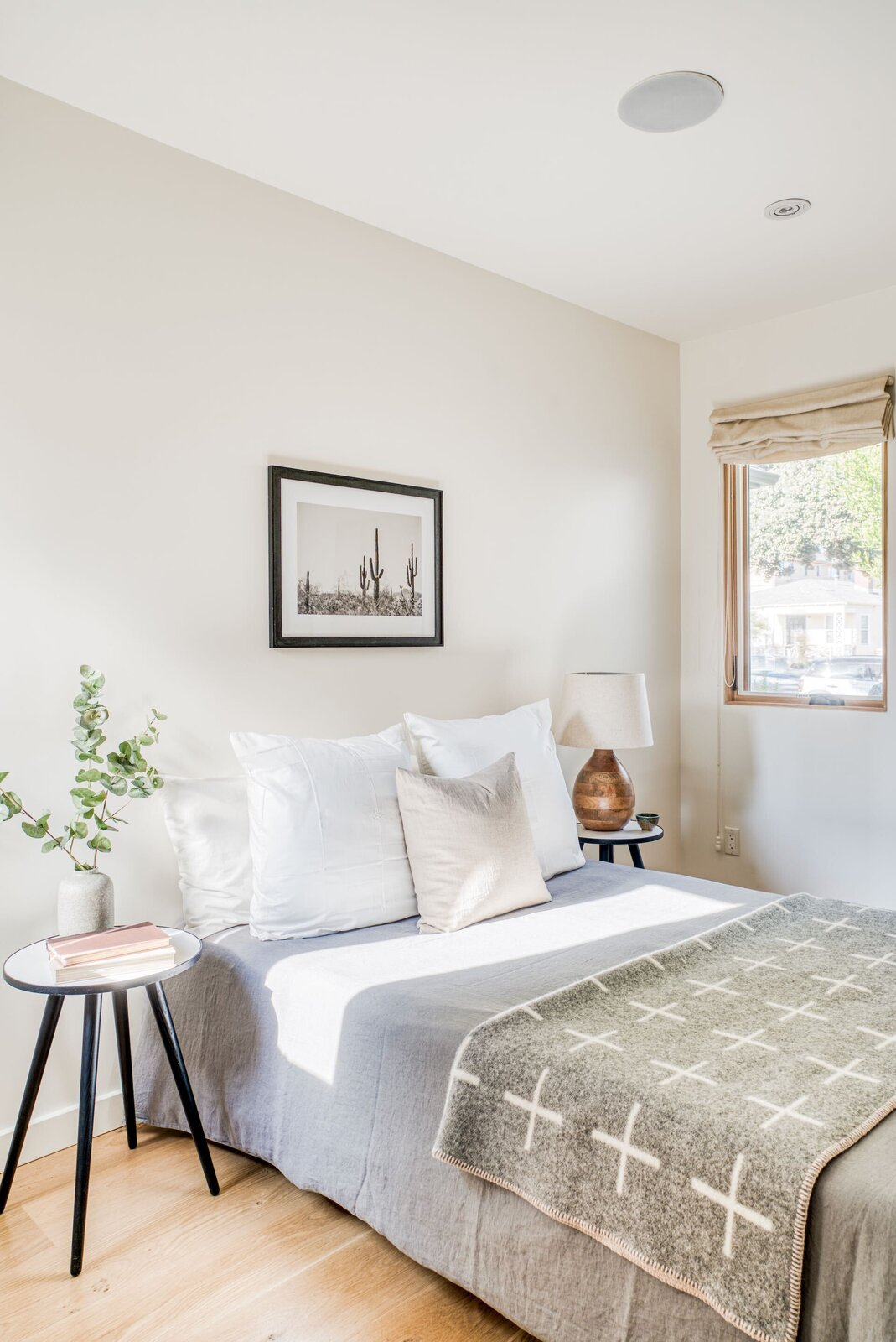 A look at one of the home's secondary bedrooms.  Photo 13 of 15 in In Los Angeles, a Remixed Craftsman Bungalow Lists for $1.9M